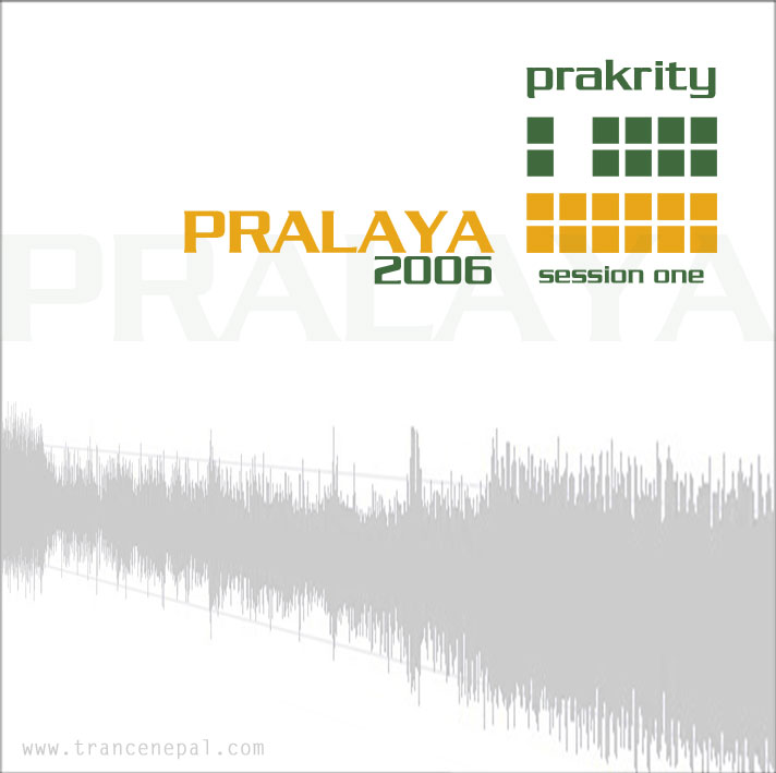 prakrity - pralaya 2006 session one -- cd cover - front